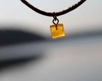 Geometric Bracelet  Glowing Amber Honey Baltic Yellow Gold Charm Natural Men Jewelry Eco Friendly Summer Fashion Beach Men for him