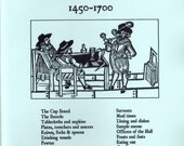 Stuart Press Living History Series:  Dining in the Past 1450-1700 Reference Book