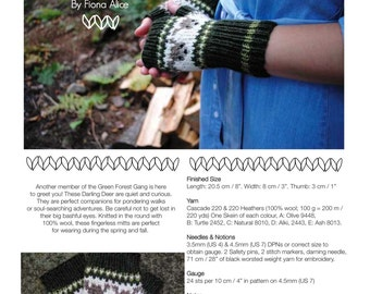 Darling Deer - PDF Knitting Pattern