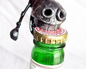 Horse Bottle Opener handmade from recycled steel,Hand Held version