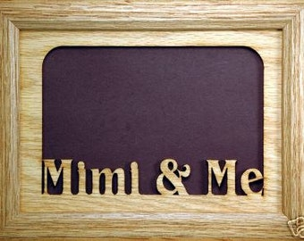Mimi and Me Picture Frame 5x7