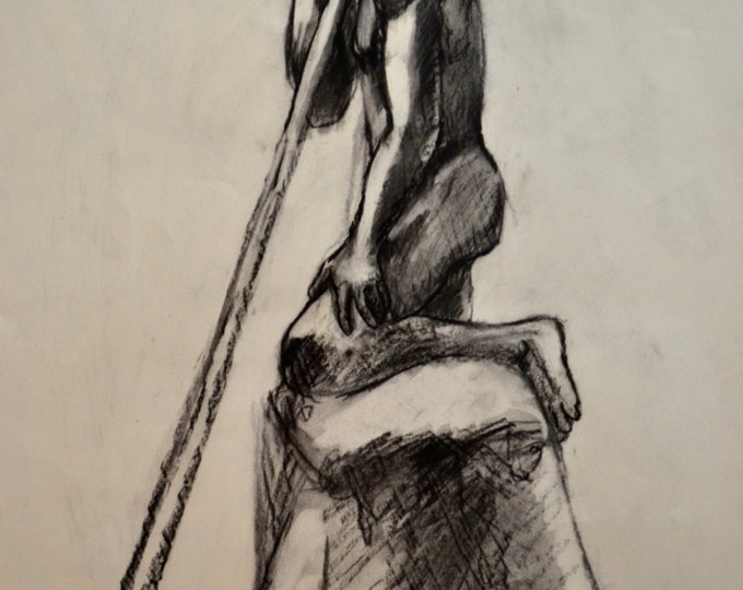 """Charcoal Drawing 