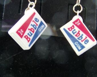 Box of Bubble Gum Earrings