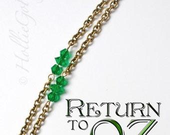 Return to Oz Key Emerald City Key Necklace for Michele