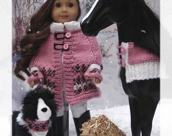 eBook collection Denali PDF Doll Clothes for American Girl Dolls like Saige, Horse and Pet like Picasso & Rembrandt by Debonair Designs