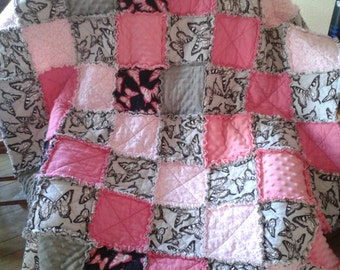 Girls Rag Quilt