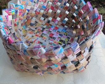 Folded PaperOrigami  Basket Asian