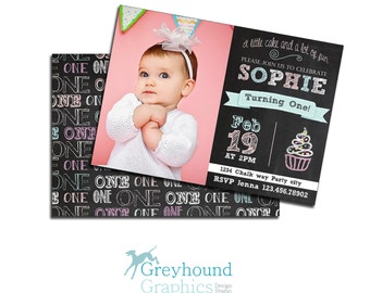 40th birthday ideas 1st birthday invitation templates for First birthday board template