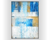 "OOAK Contemporary Modern Abstract Acrylic Painting 11.7x16.5 "" Untitled 391"" - EdenSome"