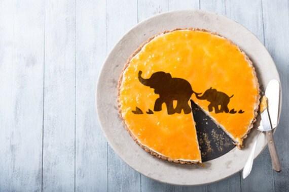 elefanten torte schablone kuchen runde schablone f r kuchen. Black Bedroom Furniture Sets. Home Design Ideas