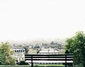 Paris Rooftops Photo - Paris Photography, Paris Print, Montmartre Photo, Paris Decor, Home Decor, Paris Cityscape