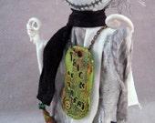 Halloween ~ Ghost Character ~ Spooky Halloween Decor~ OOAK