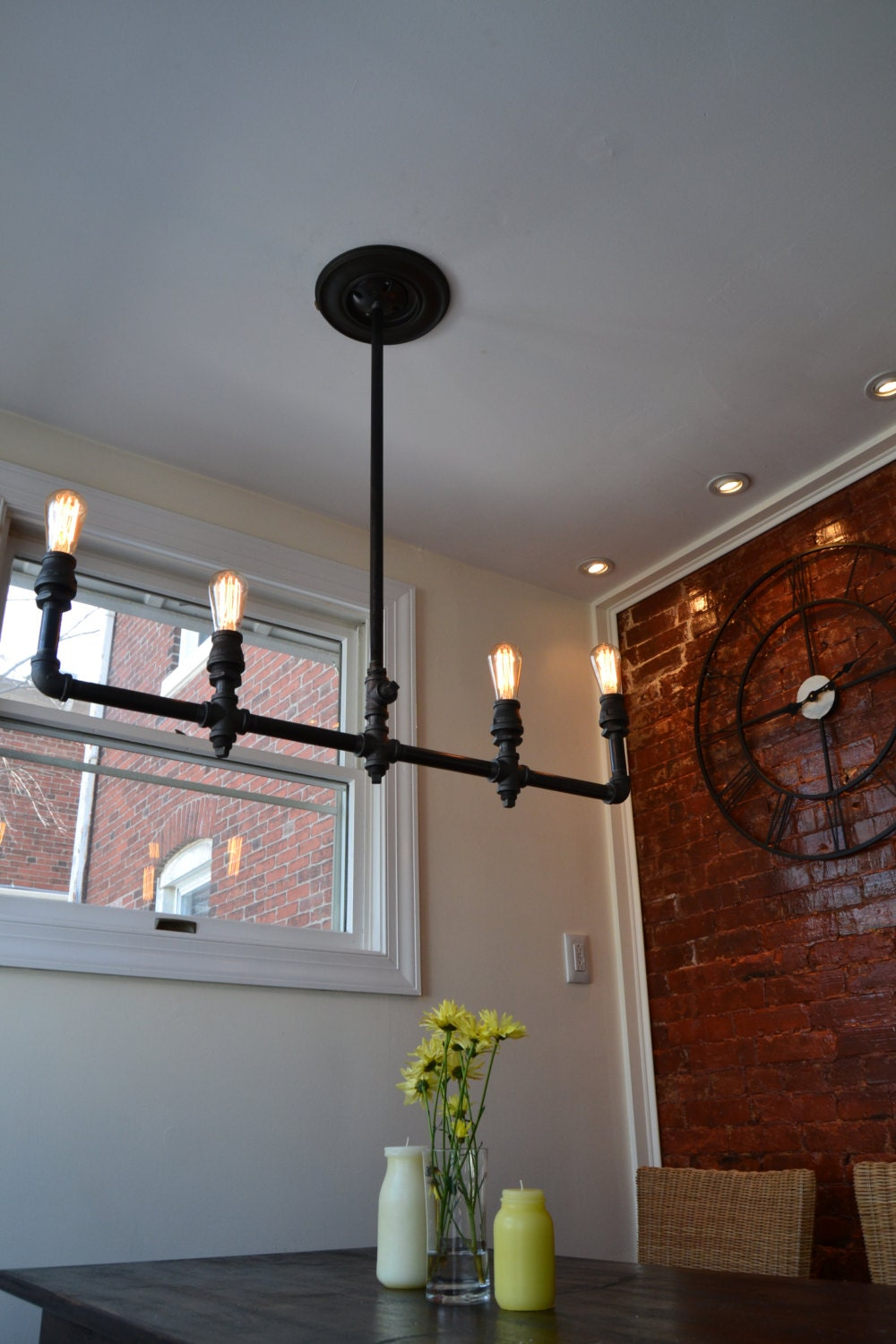 Industrial Light Steampunk Chandelier Industrial