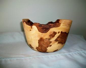 Maple Burl Wood Bowl