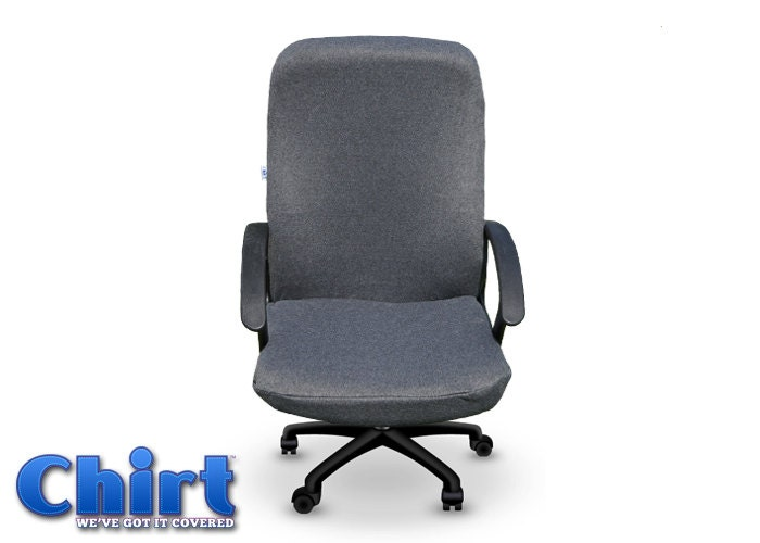 Charcoal Grey Chirt Office Chair Cover