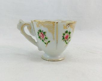 Delicate Vintage Demitasse Teacup Made in Occupied Japan