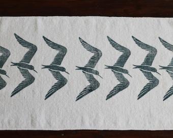 bath rug, bath mat SEA BIRD cotton chenille rug