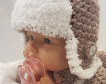 Crochet PATTERN - Furrilicious Earflap Hat **Pdf Pattern**
