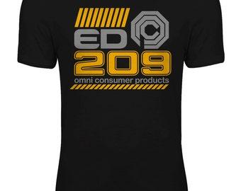 Robocop - OCP ED-209 Enforcement Droid Movie Womens T-shirt