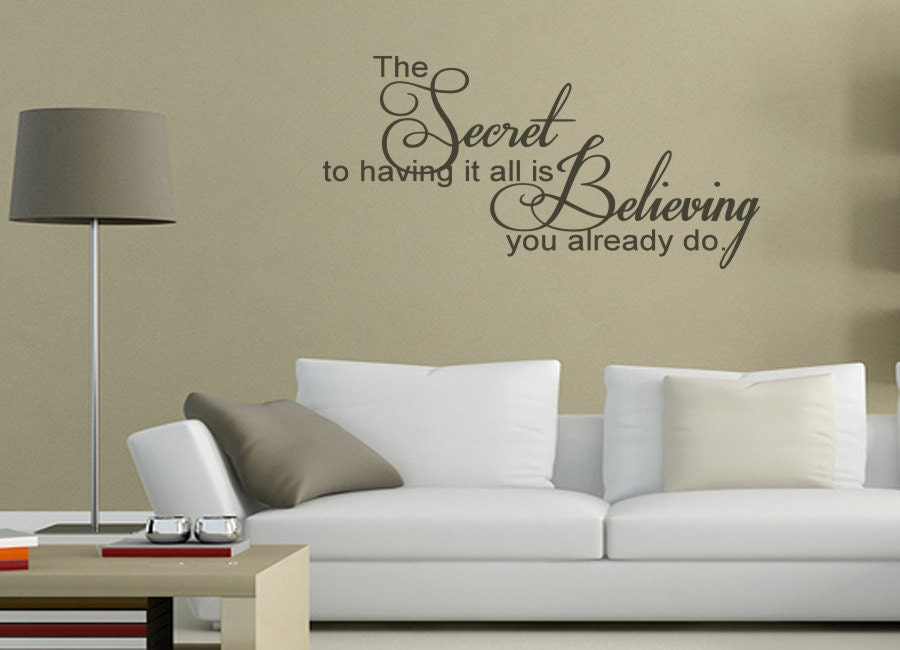 Cool Zoom With Wall Sayings For Living Room