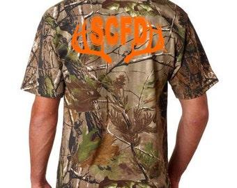 Sarasota County Fire Department 100% cotton t-shirt.  Camo