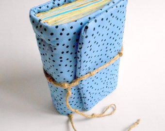 Sky Blue Journal, Handmade Diary, Travel Book, Old Paper, Pregnancy journals, Notebooks