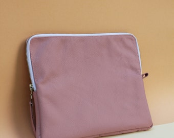 Leather Tablet Case IPAD CASE Rose