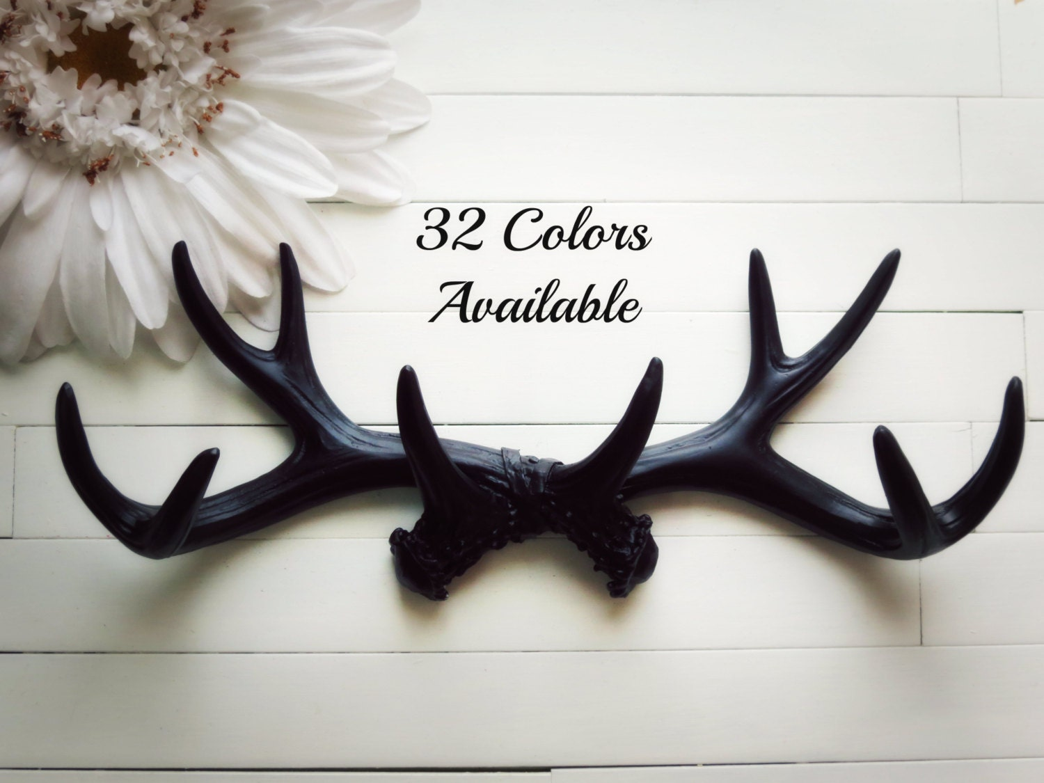 Faux antler wall decor faux taxidermied faux antlers for Antler wall decor