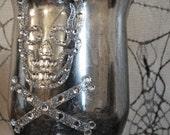 Gothic Halloween Votive Candle Holder Set