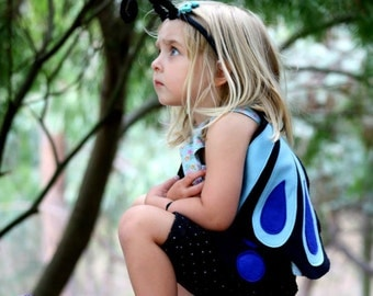 the butterfly blue ulysses handmade childrens costume - Small Childrens Images