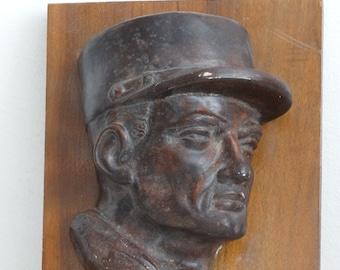 French Legionnaire Plaster Sculpture
