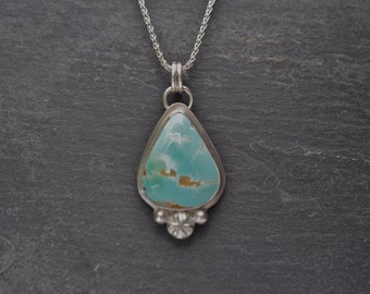 Turquoise on Sterling