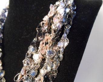 Trellis Necklace / Crochet Necklace Item No. M6