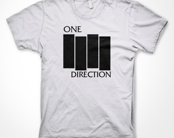 One Direction Punk T Shirt 100% Cotton Sizes S-XL Available