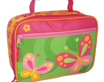 BUTTERFLY LUNCHBOX Stephen Joseph free monogram or name