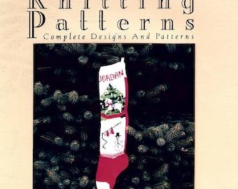 Christmas Stocking Pattern,  Rocking Horse / Tree