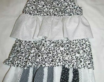 3T Black and White Toddler Dress ---> FREE SHIPPING in the United States