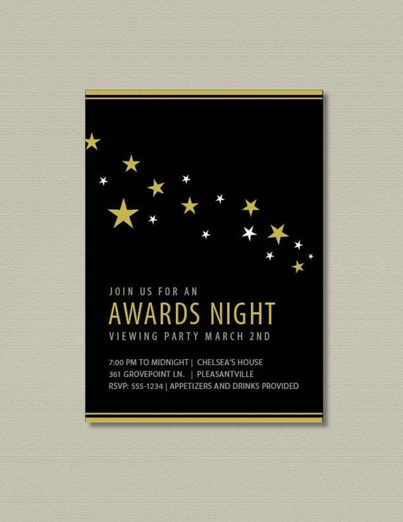 Hollywood Party Invitation is best invitation design