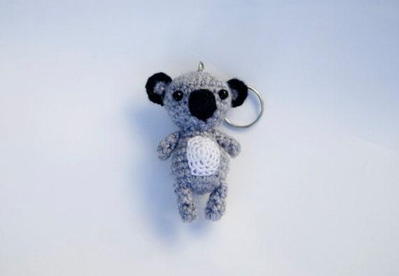Amigurumi Koala Keychain : Koala Amigurumi koala koala amigurumi Key chain koala