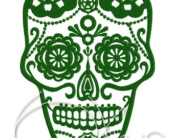 MACHINE EMBROIDERY FILE - Sugar skull
