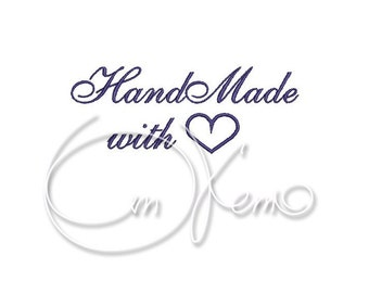 MACHINE EMBROIDERY FILE - Handmade with love