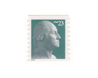Qty of 10 - 2002 Unused Modern Postage Stamp - Washington - No. 3617