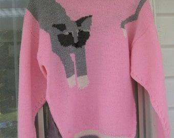 Jema Cat Jumper (Price reduced from NZD120.00)