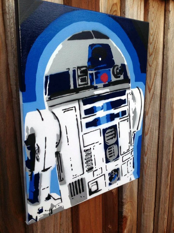 Star Wars R2d2 Art R2d2 Portrait Star Wars