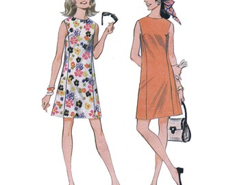 McCall's Sewing Pattern 9179 Misses Dress  Size 14