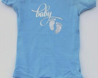 Baby - Baby Feet Baby Onesie