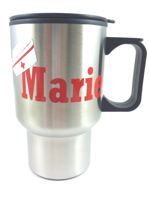 Items similar to Personalized travel mug, coffee cup ...