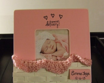 baby frames frames for baby personalized baby girl frame special delivery newborn frame baby shower gift babies nursery new grandparents