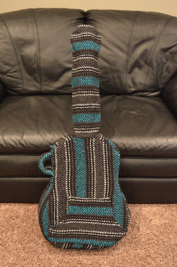 Items similar to Teal Colored Acoustic Guitar Case on Etsy