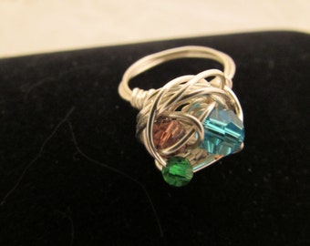 Swarvoski Crystal Ring